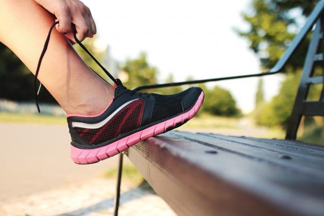 Running shoes (Image by StockSnap from Pixabay)