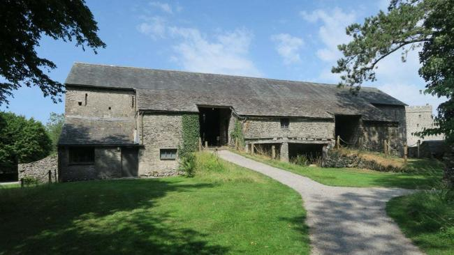 The Great Barn at Sizergh Castle
