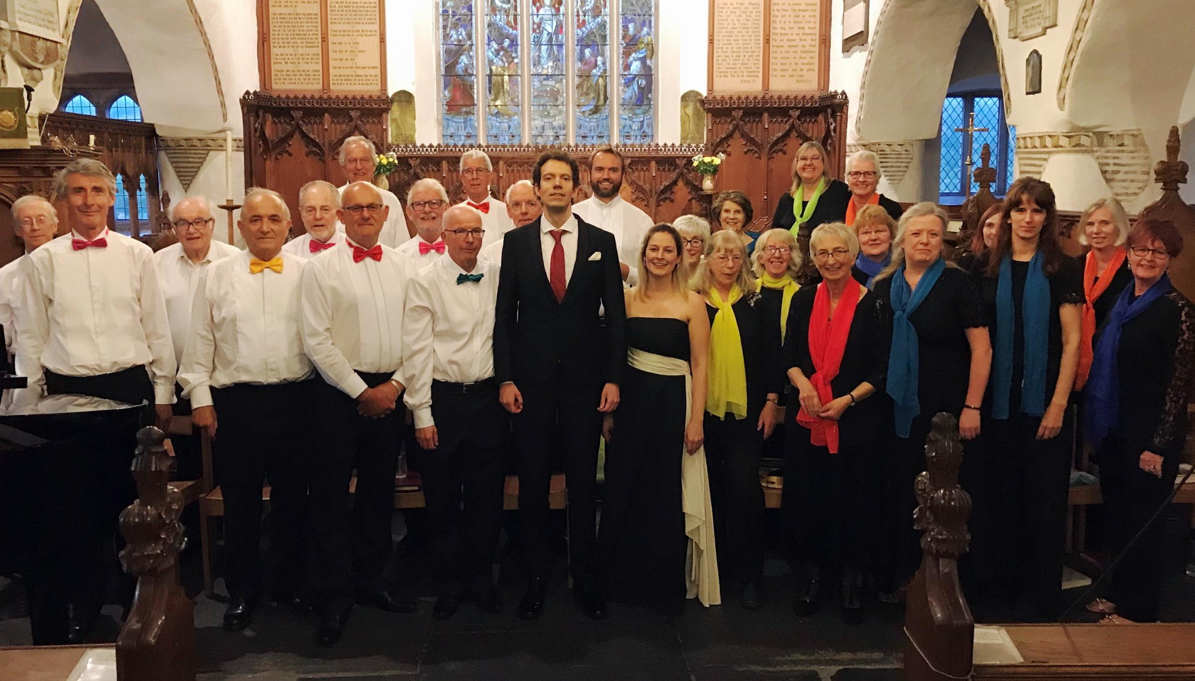 REVIEW: choristers sung with such confidence and pure enjoyment