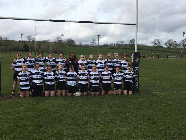 The Upper Eden women's rugby squad