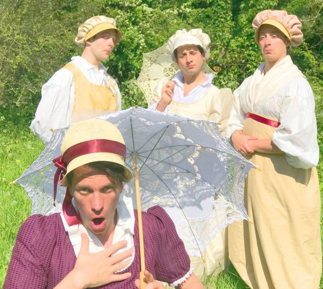 Celebrated Shakespearean touring theatre company, The Festival Players, stage Much Ado About Nothing at Leighton Hall on July 19