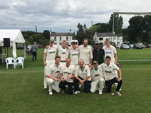 The victorious Kendal second XI