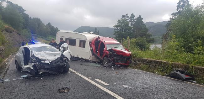 A591 crash: Man in serious but stable condition