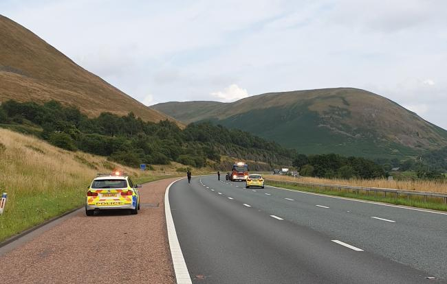 M6 in Cumbria reopens in both directions after vehicle