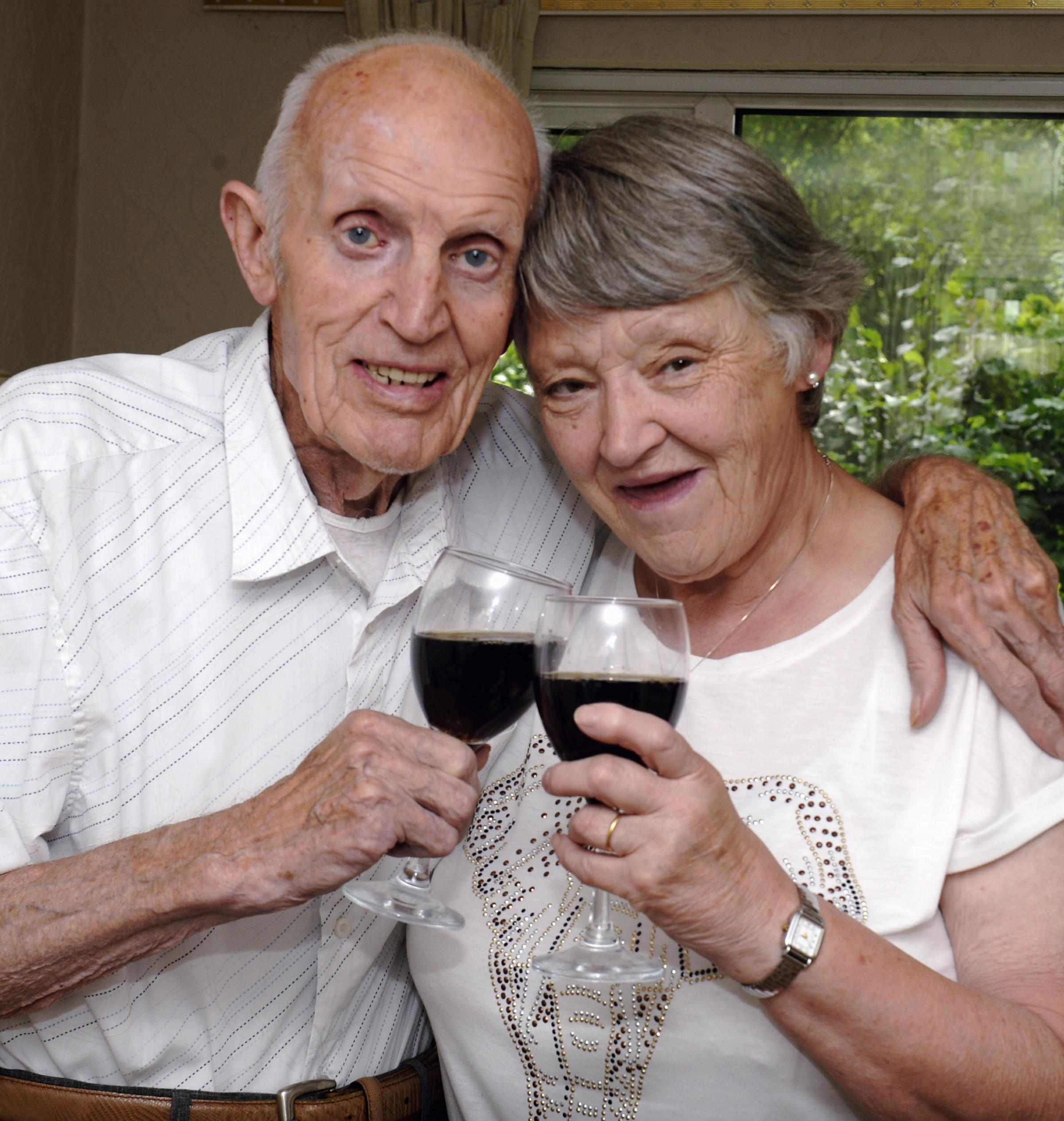 """""""Give and take"""" is recipe for 60 years of happy marriage for Sedbergh couple Eric and Margaret Major"""
