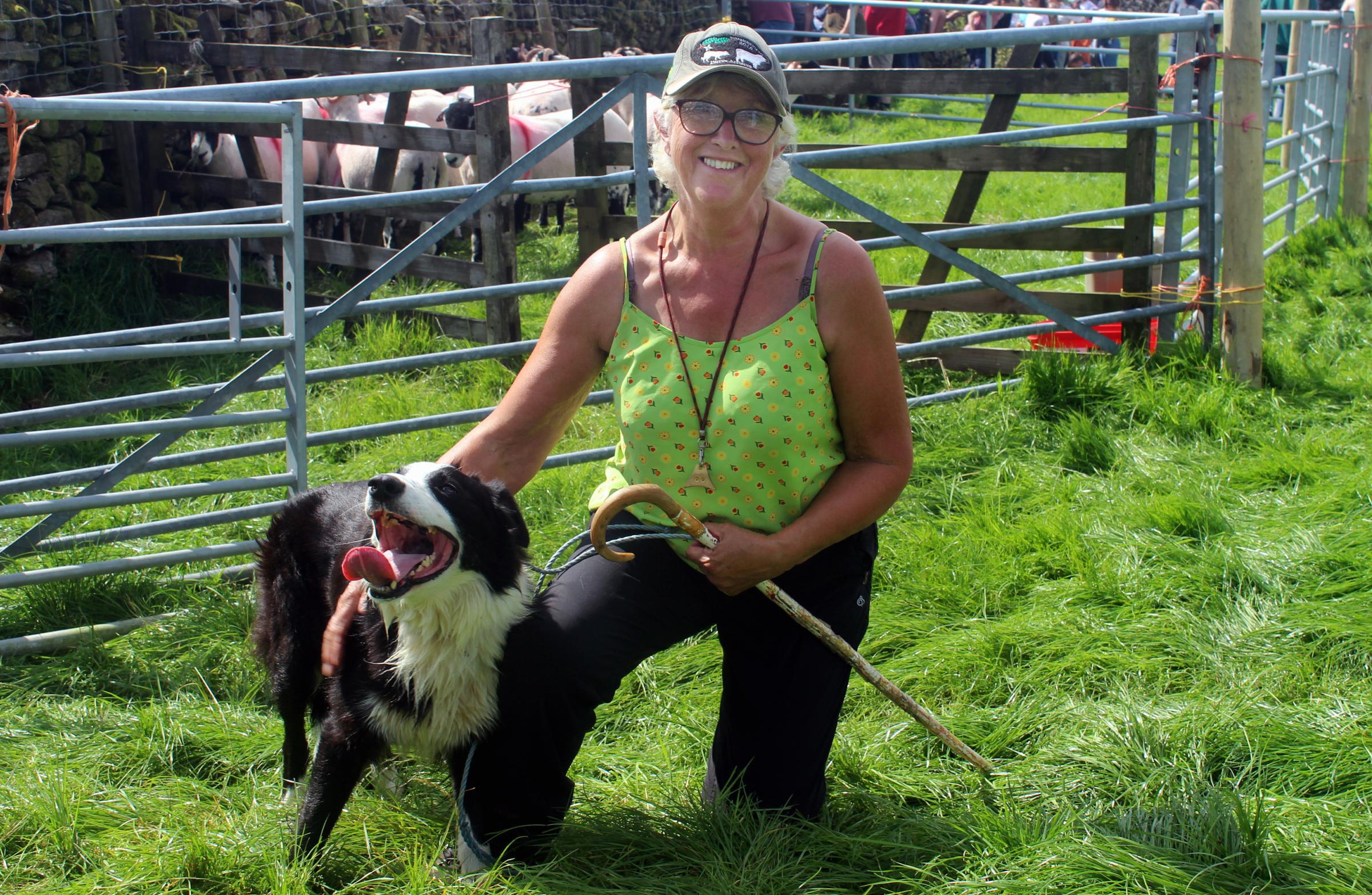 Historic sheepdog trials return to farm near Kendal