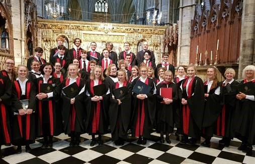 Talented Giggleswick School choristers sing at St Paul's and Westminster Abbey