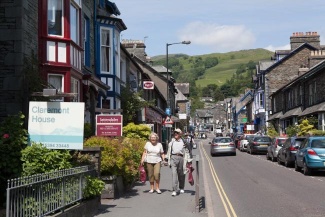 Ambleside news including road closure from Waterhead coming up