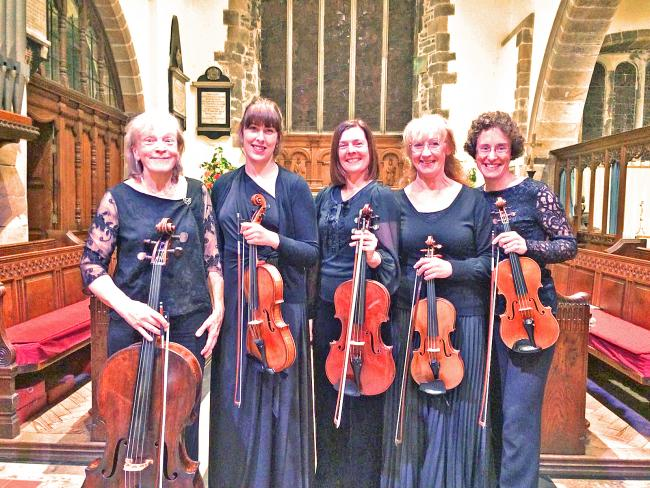 Eberle String Quintet is centre stage for final concert
