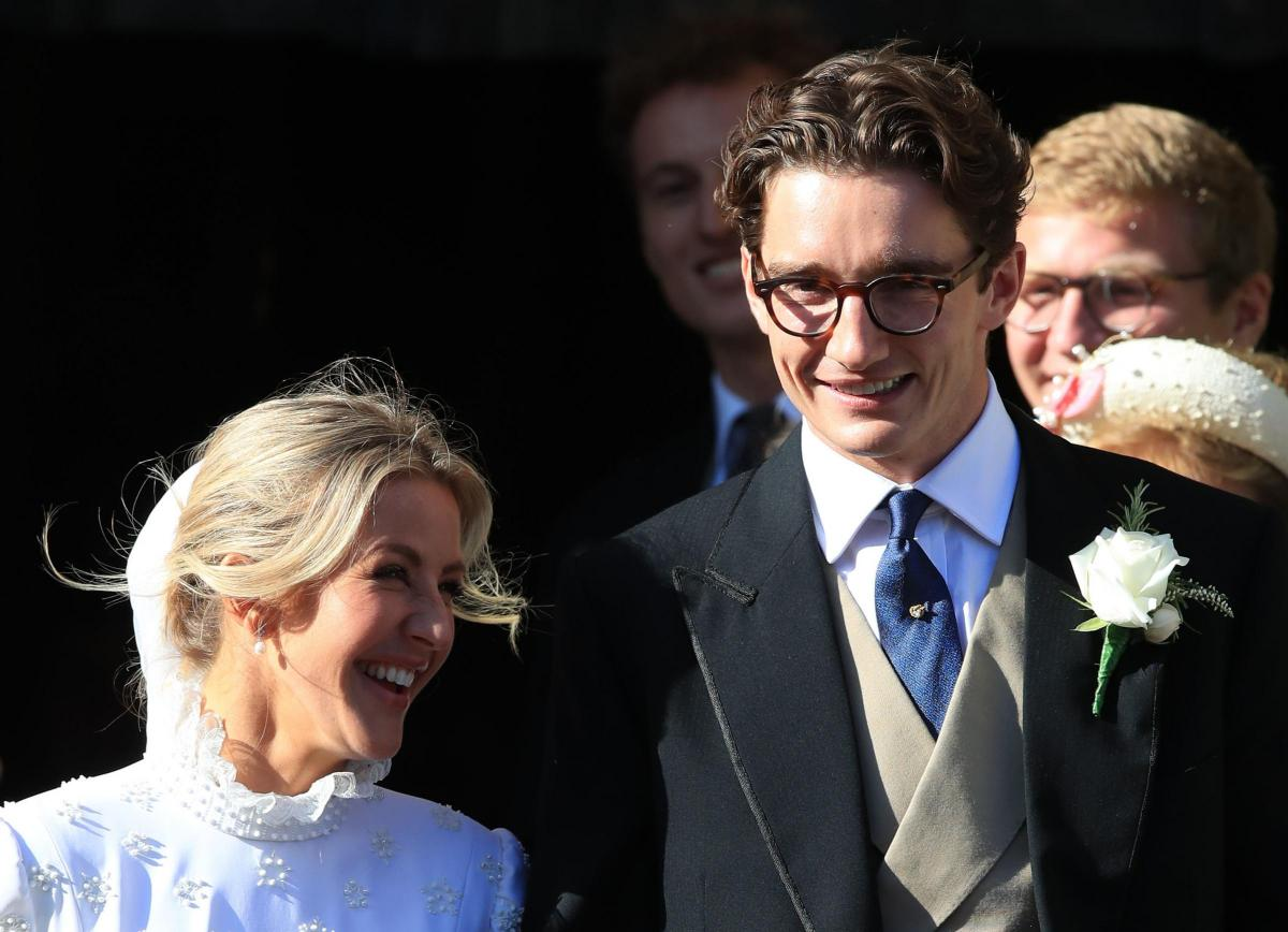 Ellie Goulding marries Caspar Jopling, grandson of former MP