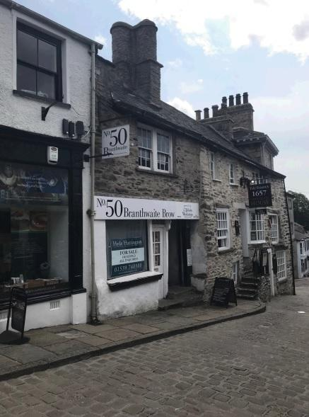 The former wool shop at Branthwaite Brow, Kendal (Picture: SLDC planning portal)