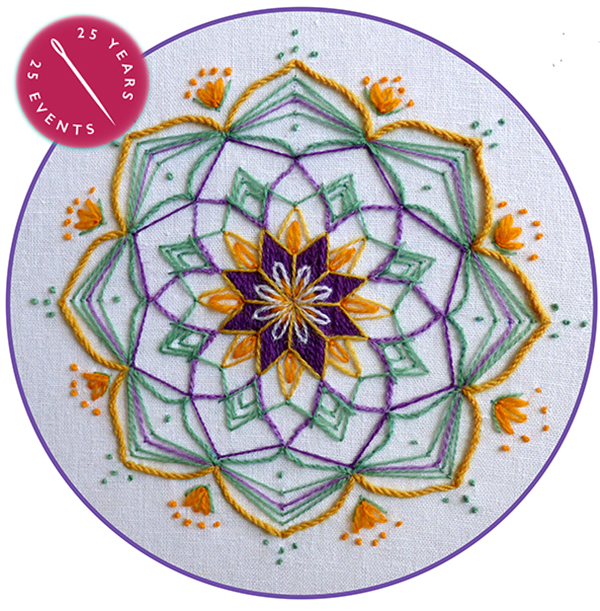 Creative Embroidery Workshop - Mandala