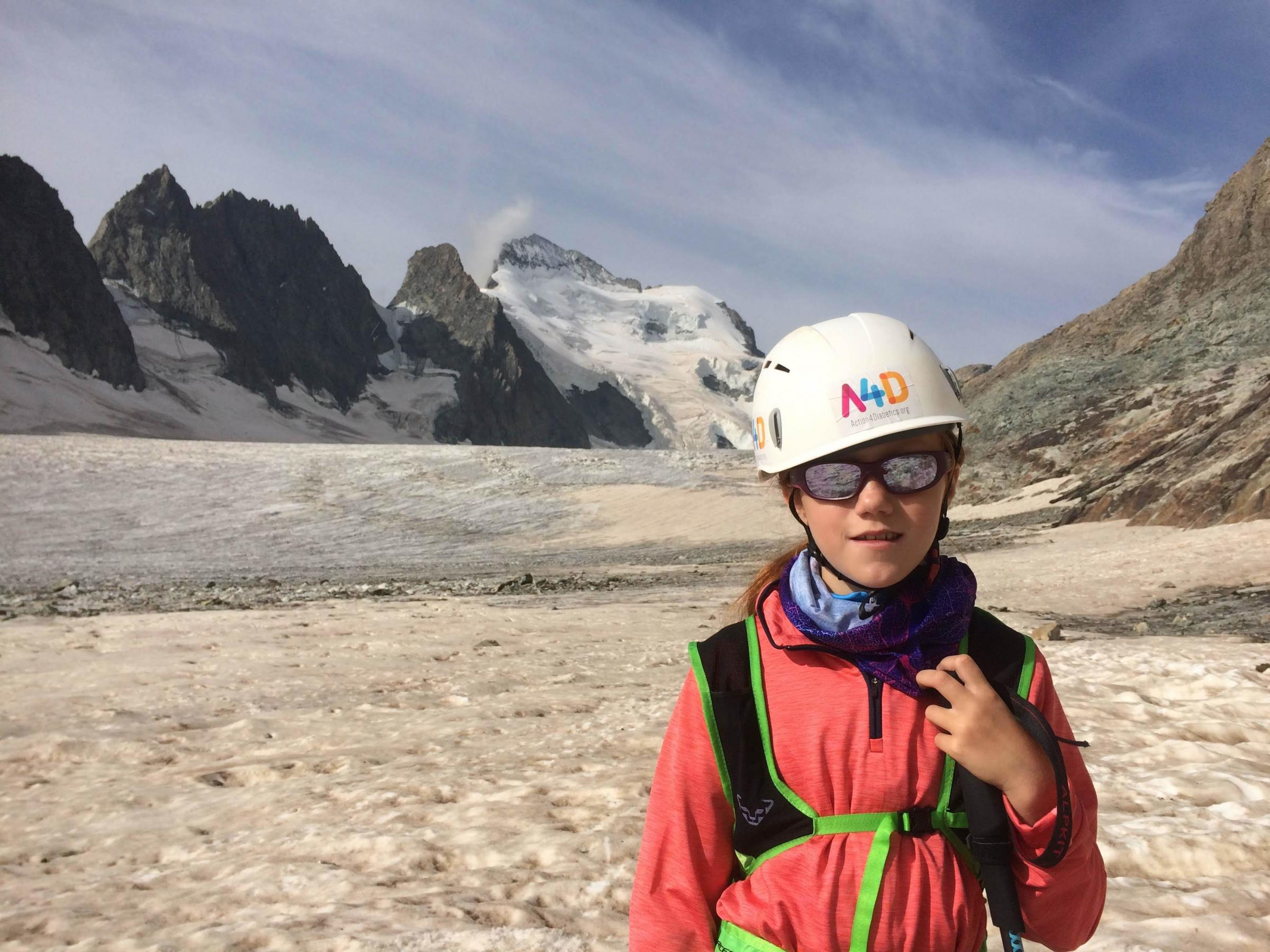 10-year-old takes on 4,000m Alp for charity