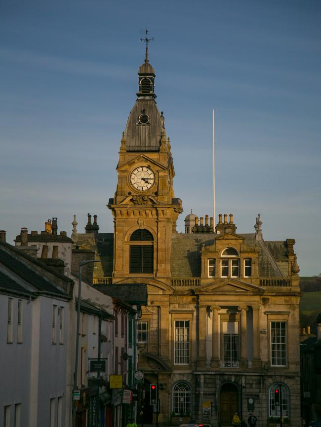 Kendal Town Hall. Sandy Kitching