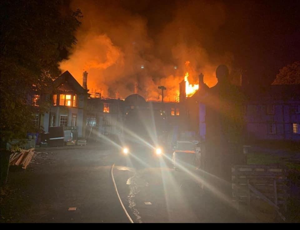 Owners of Grade II-listed Scalesceugh Hall distraught after major fire