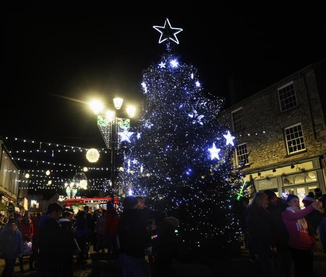 The Kendal Christmas lights switch-on in 2017