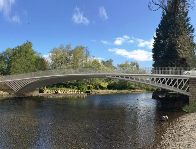 New footbridge opens in Pooley bridge today