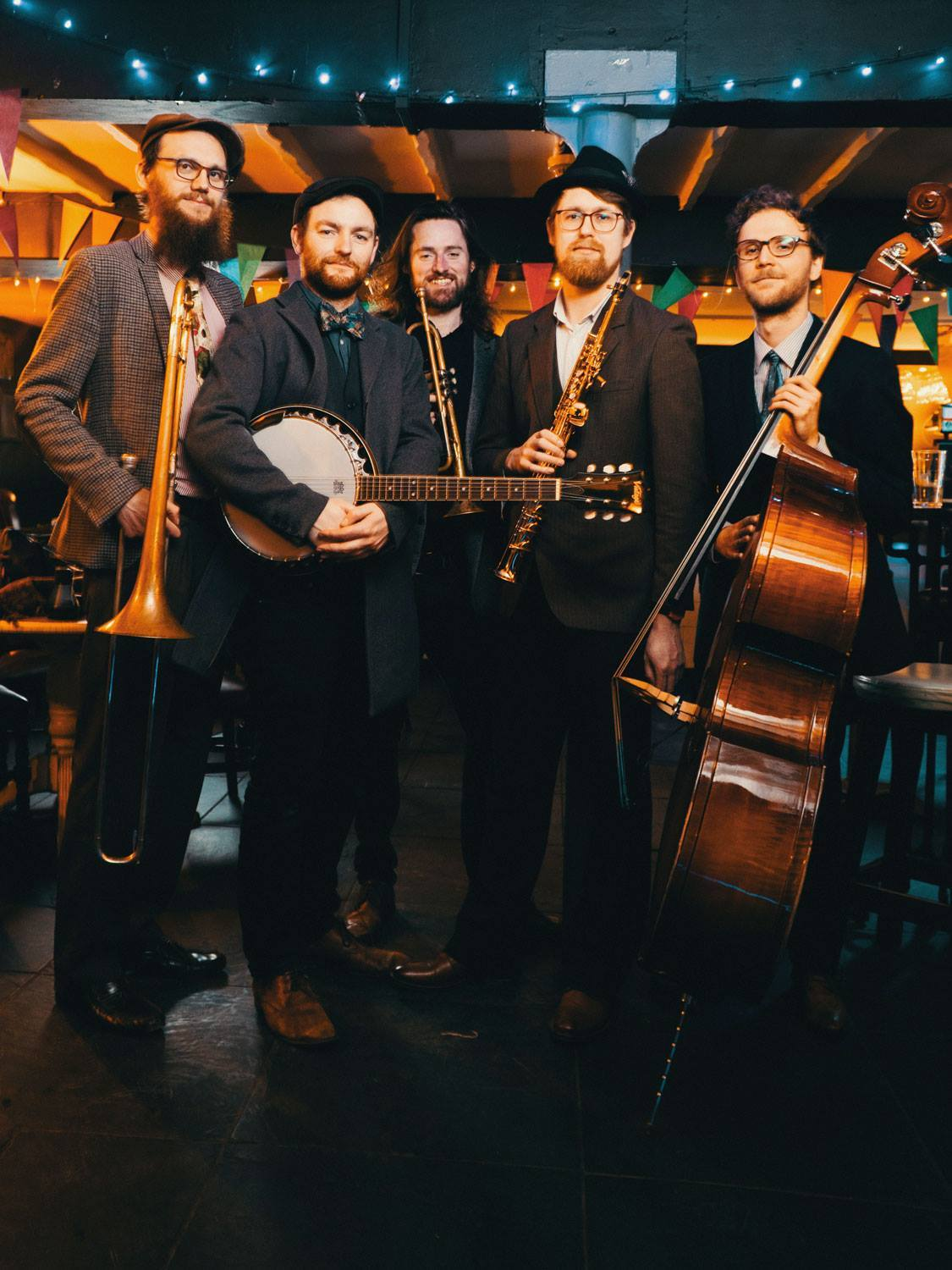 Jazz club hosts raw energy and excitement of red hot band
