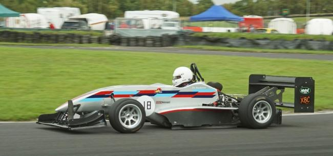 A fine performance by Kendal driver Jim MacDiarmid assisted by partner Jane Green saw them clinch the 2019 Cross Border Speed Championship. MacDiarmid, pictured above driving his Force PC single seater, took seven maximum point scores along with three out