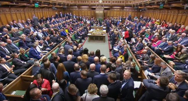 VOTE: MPs have accepted the Letwin amendment, which seeks to avoid a no-deal Brexit on October 31. Picture: House of Commons/PA Wire