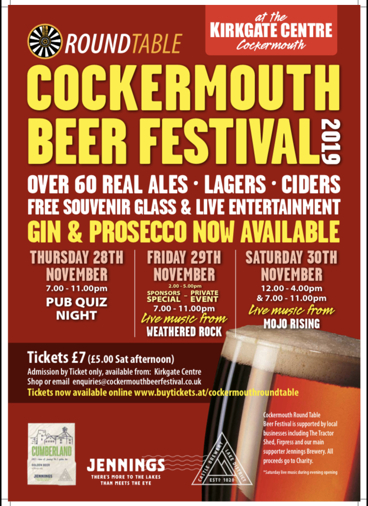 Cockermouth Charity Beer Festival