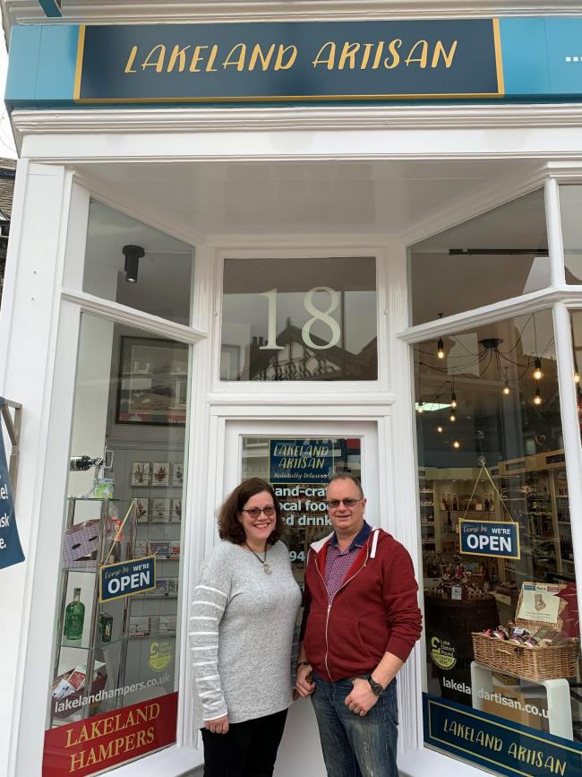Lakeland Artisan directors Mary and Geoff Monkman