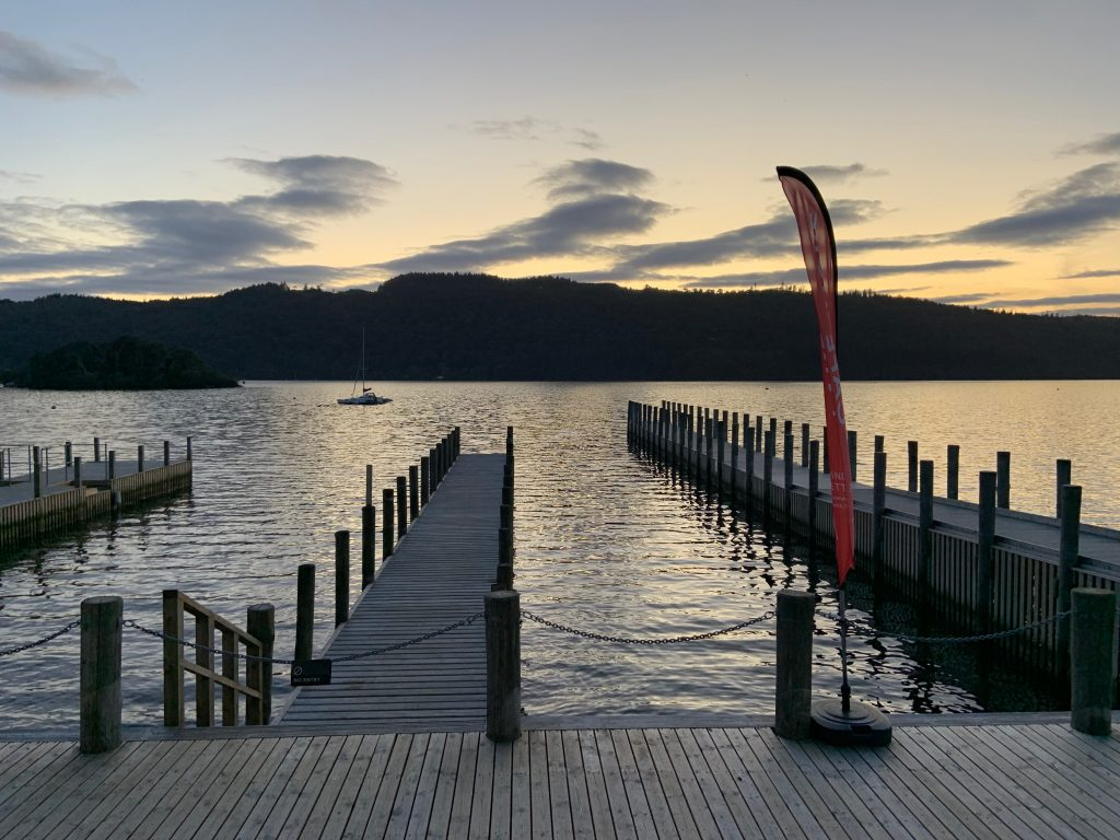 Christmas at Windermere Jetty
