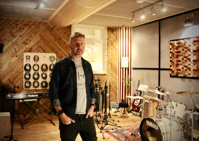 Mark Gray of King Sound Studio. Picture: King Sound Studio