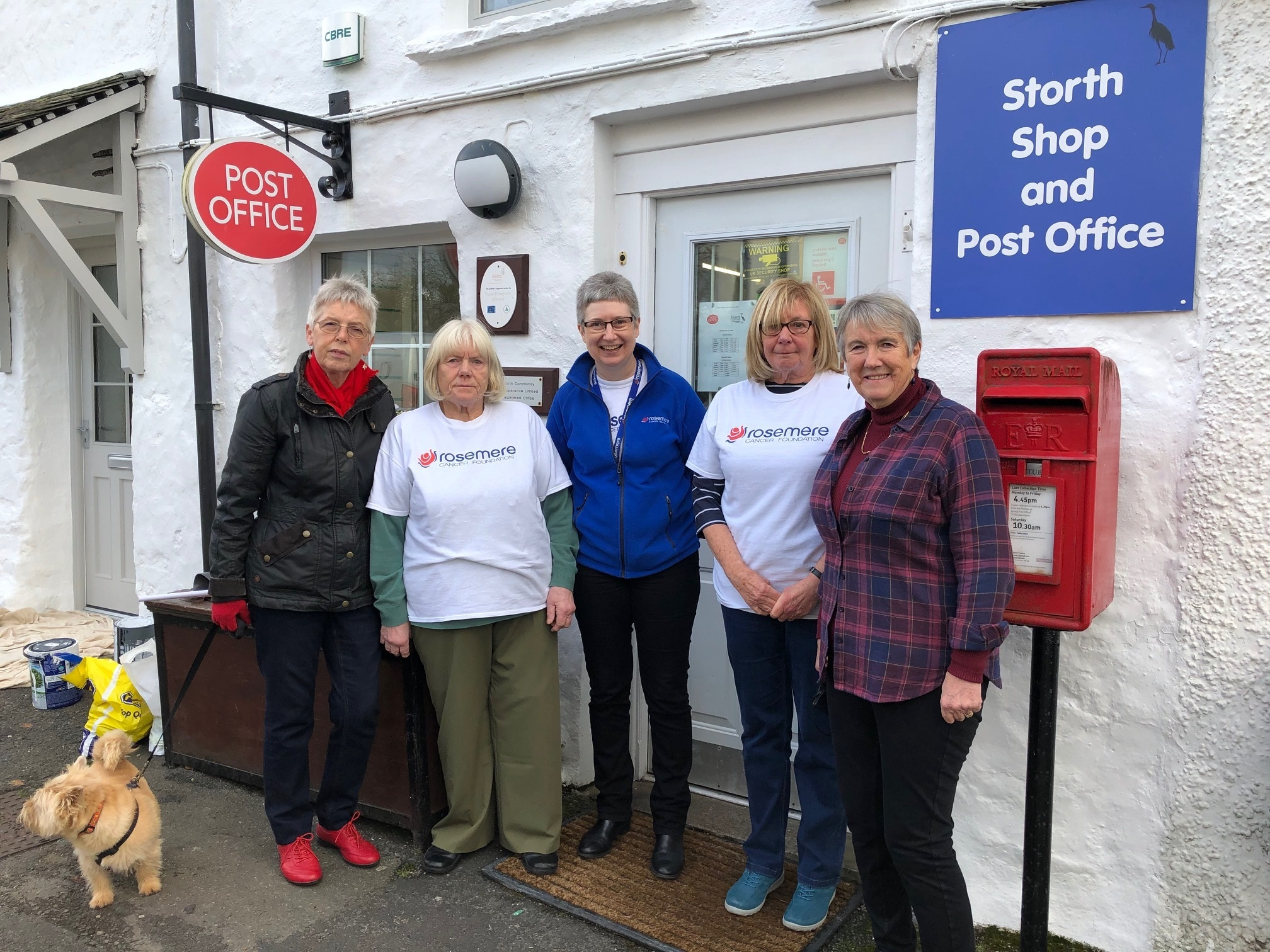 Rosemere Cancer Foundation charity thanks kind-hearted Storth village shop and post office customers - The Westmorland Gazette