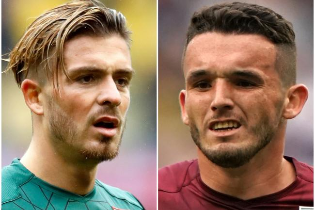 Jack Grealish (left) and John McGinn (right) have caught the eye for Aston Villa