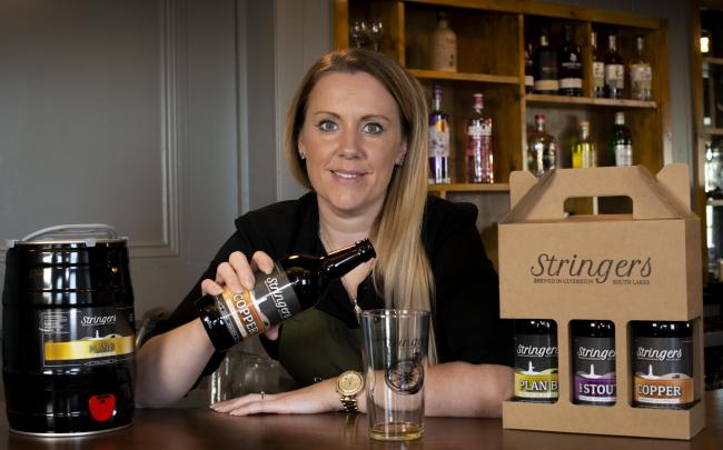 Stringers Brewery Ulverston - Beer.