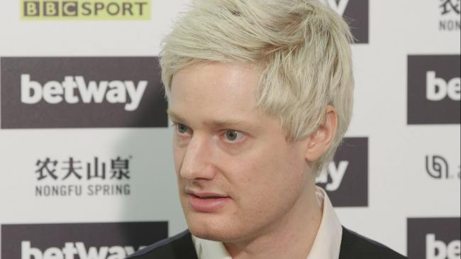 Neil Robertson believes the cancellation of his son's football match could be a blessing in disguise