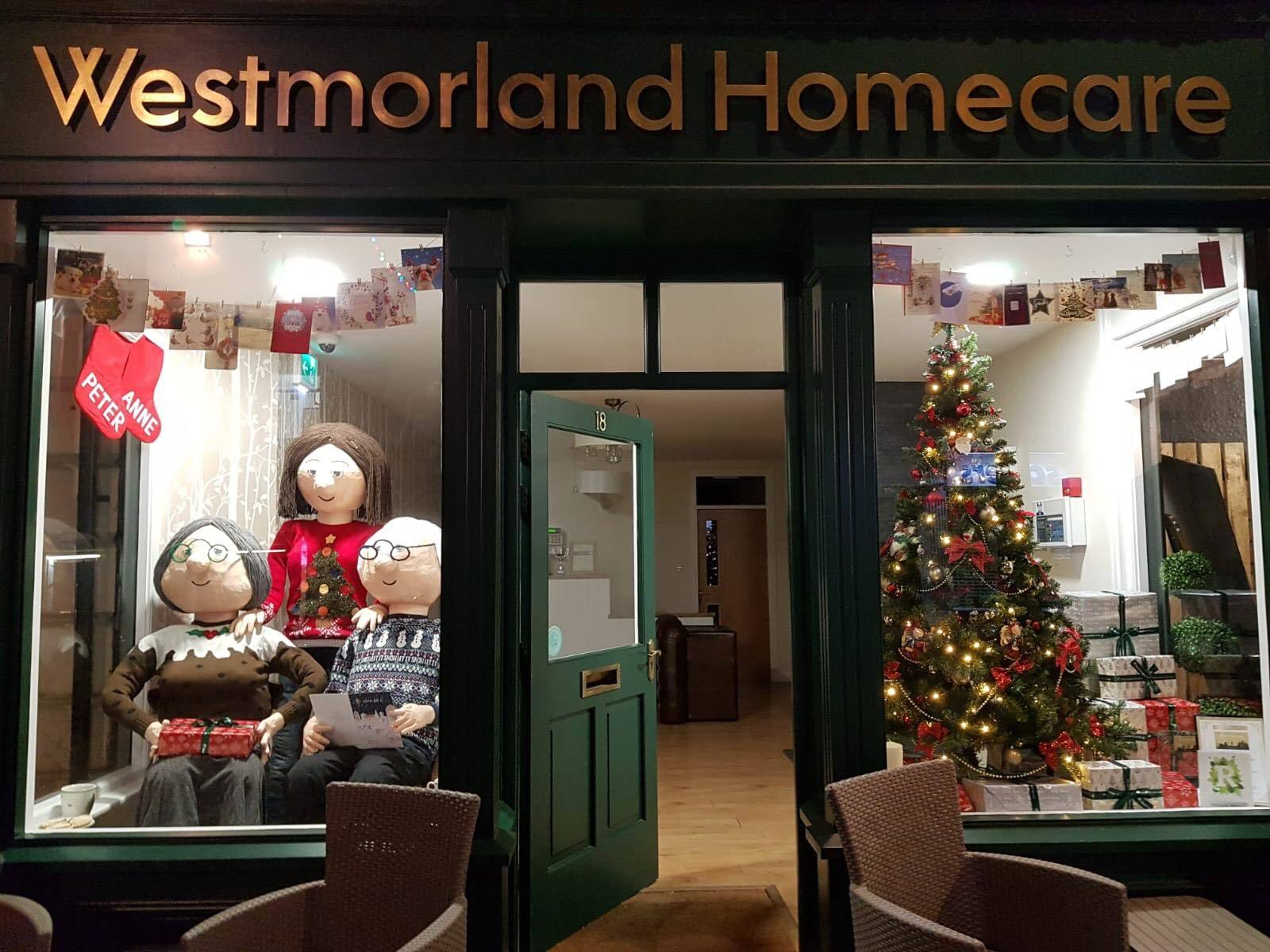 Charity transforms its window display for Christmas