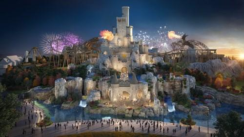 New plans reveal how £3.5bn 'UK Disneyland' theme park will look like. Picture: The London Resort Company