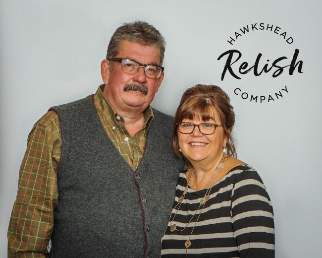 Donations: Mark and Maria Whitehead of Hawkshead Relish