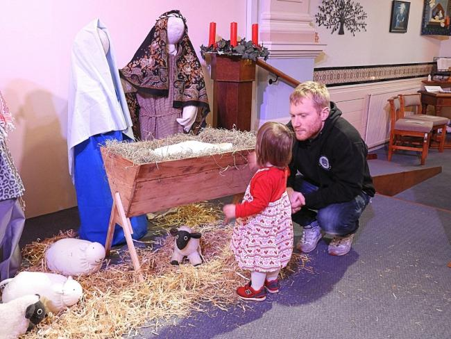 "More than 200 people have flooded in to see the inspiring exhibition ""The Spirit of Christmas"" in Stricklandgate Methodist Church, Kendal. Visitors were able to admire more than 50 nativity scenes, cribs of all sizes from countries as far away"