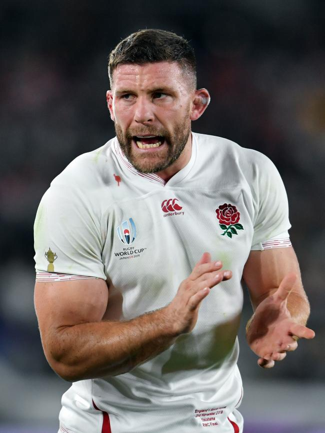 England's Mark Wilson during the 2019 Rugby World Cup final match against South Africa at Yokohama Stadium..