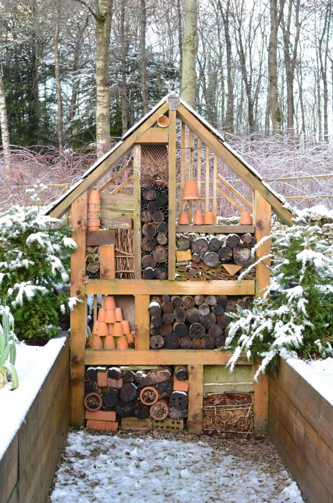 A bug 'hotel' – a refuge for insects and wildlife
