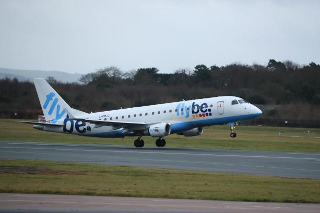 Flybe is seeking support from the Government to keep in the air (Picture: Pete Byrne/PA Wire)