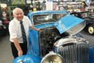 Edwin Maher is retiring from Lakeland Motor Museum after 25 years