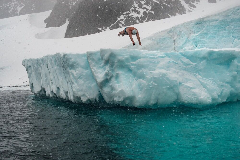 WEIRD UK NEWS: Brit becomes first person to swim under Antarctic ice