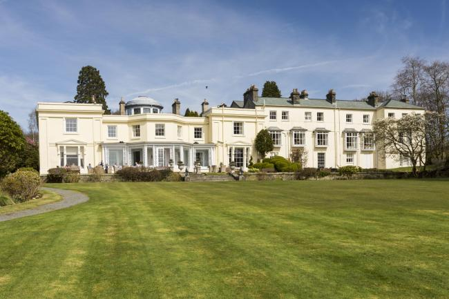 Storrs Hall on the shores of Windermere
