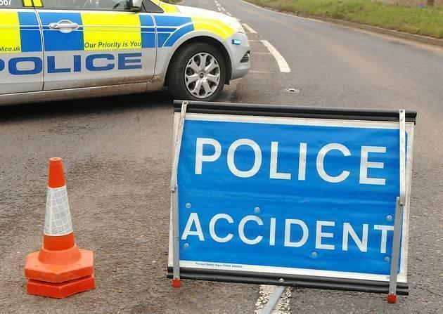 A590 blocked after collision