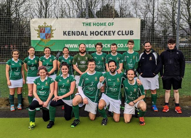 Kendal Mint Cakes after their win against Bolton University.