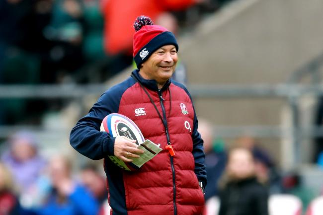 Eddie Jones oversees England's open training session