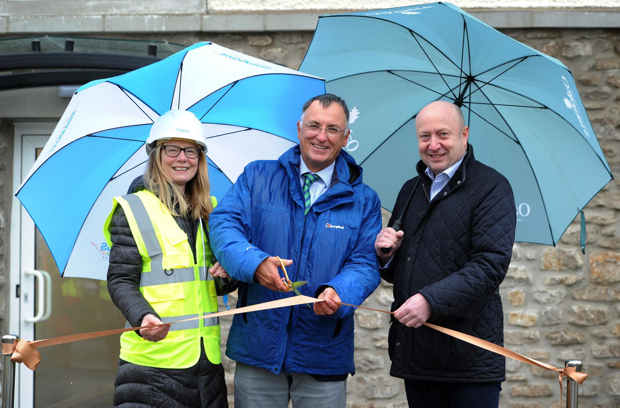 Ribbon cut on affordable apartments at major Kendal development