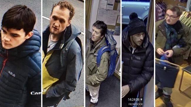 The CCTV images. Picture: Cumbria Constabulary