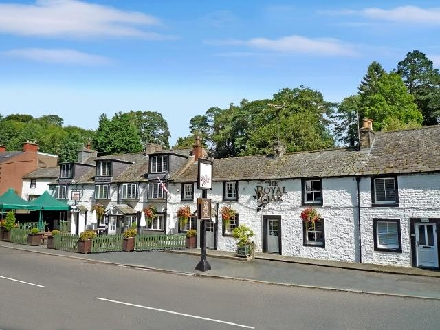 SOLD: the Royal Oak Inn went for around £150,000