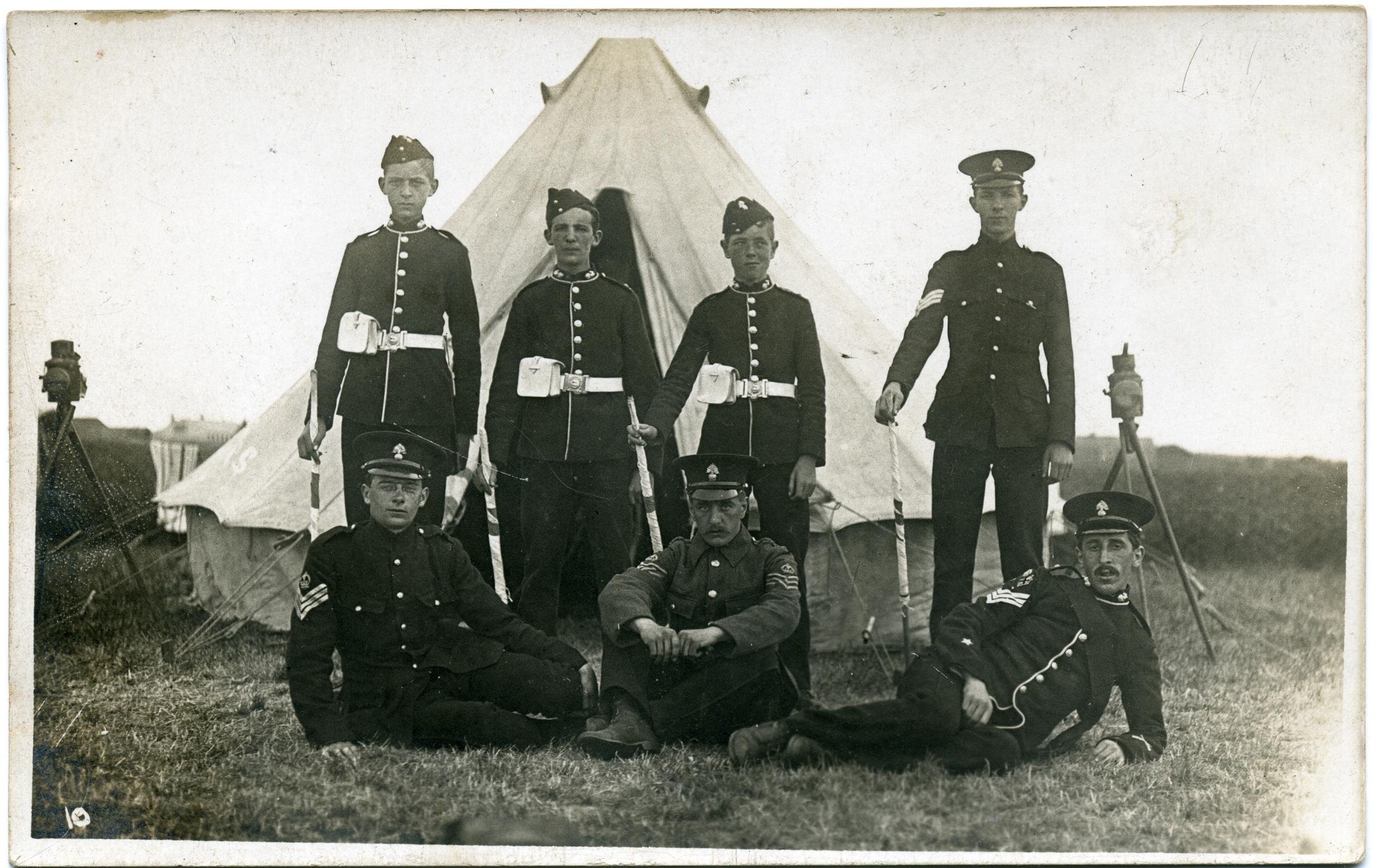 Contribution of the Commonwealth - The Royal Fusiliers in World War One