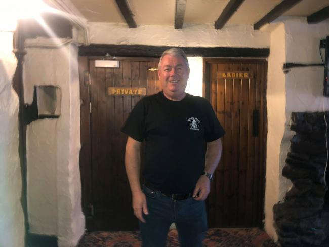 MANAGER: Paul Aston, manager of The King's Head in Ulverston